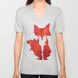 Fitz the Fox Unisex V-Neck