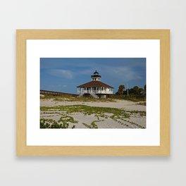 Boca Grande Railroad Vines Framed Art Print