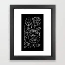 Witchcraft II [B&W] Framed Art Print