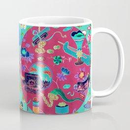 Chinese Decorative Panel Coffee Mug