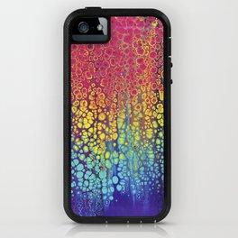 Rainbow Rain iPhone Case