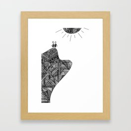 Creatures of the Mountain Framed Art Print
