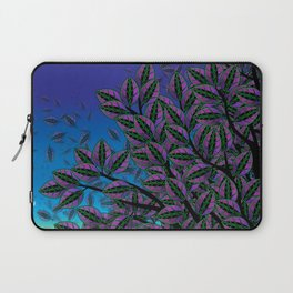 Dusk in The Forest of Glass Laptop Sleeve