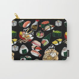 Sushi Black Carry-All Pouch
