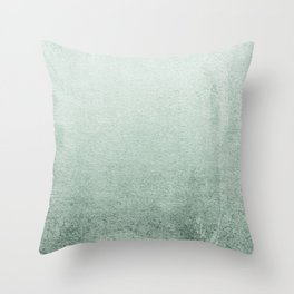 FADING GREEN EUCALYPTUS Throw Pillow