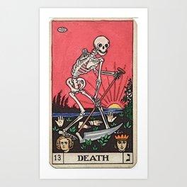 Death Tarot Kunstdrucke