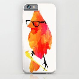 Punk bird iPhone Case