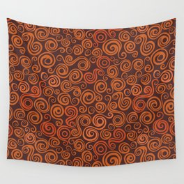 curly elements Wall Tapestry