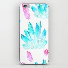 Crystals Illustration iPhone Skin