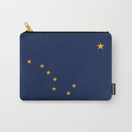 Alaska State Flag, Authentic version Carry-All Pouch