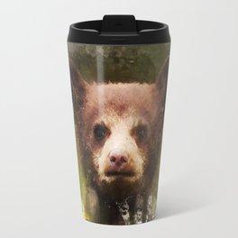 Bear Cub - Watercolor Travel Mug
