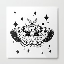 night moth  Metal Print
