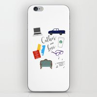 levi iPhone & iPod Skins featuring Cather and Levi by Book Spectacle