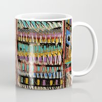 africa Mugs featuring Africa by Helene Michau