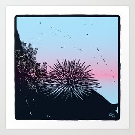 Ready for the summer! Art Print