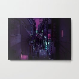 Mitaka Nights Metal Print