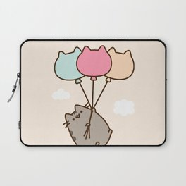 Cat Flying Laptop Sleeve