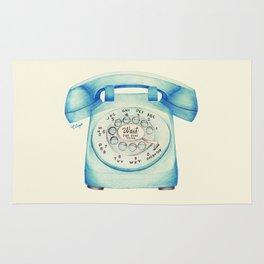 Rotary Telephone - Ballpoint Rug