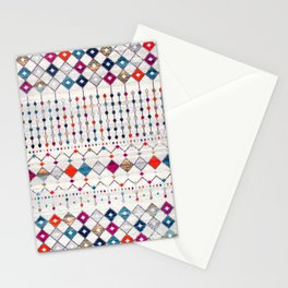 -A14- Lovely Colored Traditional Moroccan Texture Stationery Cards