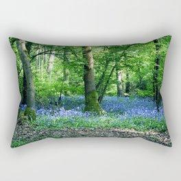 The Bluebell Dell Rectangular Pillow