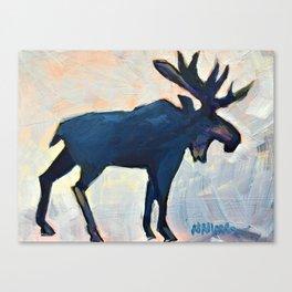 Appreciation - Moose Canvas Print