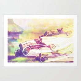 Tripping Art Print