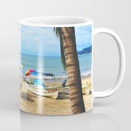 Sayulita Boats Coffee Mug