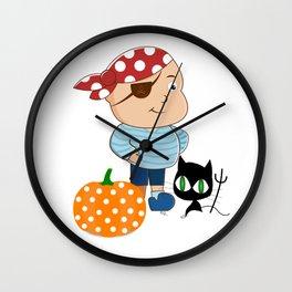 Little Pirate Wall Clock