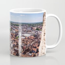 View of York from York Minster Cathedral tower Coffee Mug