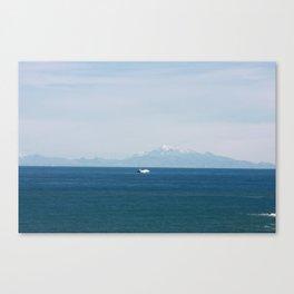 ship to new shores Canvas Print