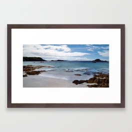 Port Uisken Framed Art Print
