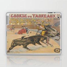 Vintage poster - Course de Taureaux Laptop & iPad Skin