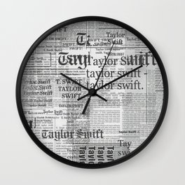 Reputation Taylor S Wall Clock