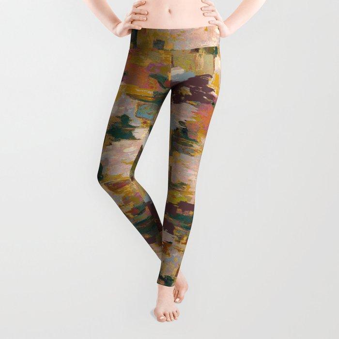 Watercolor Pattern Leggings