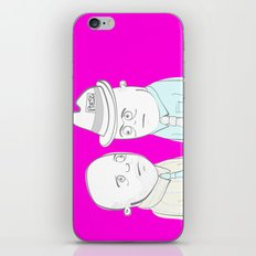 News Reporters Staring Contest iPhone & iPod Skin