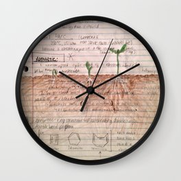 organic matter Wall Clock