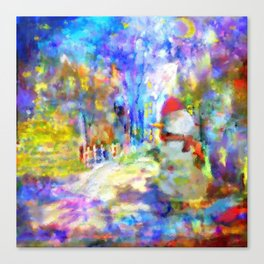 Be Happy in New 2016 Year ! Canvas Print