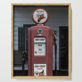 Fire Chief Gas Pump Serving Tray