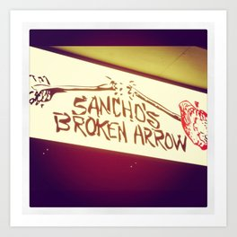 Sancho's Denver Art Print