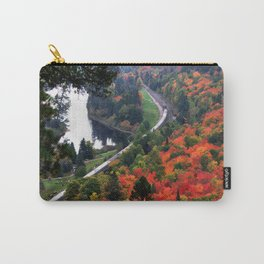 Autumn Train Carry-All Pouch