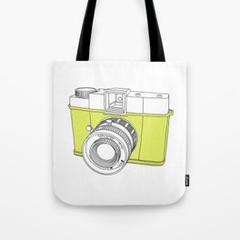 Diana F+ Glow - Plastic Analogue Camera Tote Bag