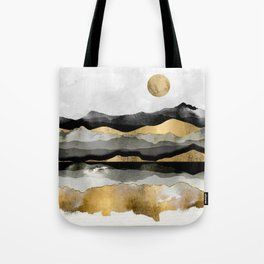 Golden Spring Moon Tote Bag