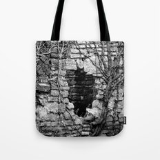 Heart of darkness Tote Bag