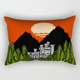 Path to Castle Rock Rectangular Pillow