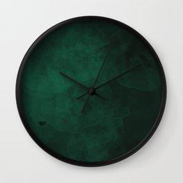 Emerald #minimal #design #kirovair #decor #buyart #green #design #elements Wall Clock
