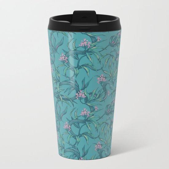 Mamba! in pastel tones Metal Travel Mug