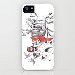 Elwood's Uncomfortable Stare iPhone Case
