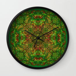 My head is a jungle Wall Clock