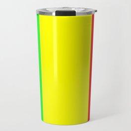 Flag of mali 2 -mali,malien,malienne,malian,bamako,tombouctou,timbuktu,sikasso,mopti,mande Travel Mug