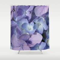 hydrangea Shower Curtains featuring Hydrangea by Cindi Ressler Photography